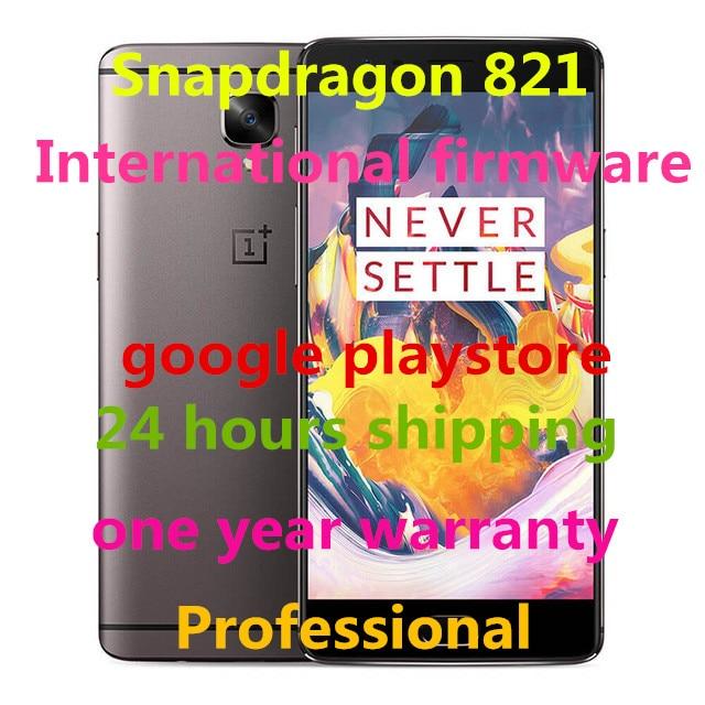 """Цена за Oneplus 3 T A3010 LTE 4 Г Мобильный Телефон Snapdragon 821 5.5 """"Android 6.0 Смартфон 6 ГБ RAM 64 ГБ/128 Г ROM 16MP Отпечатков Пальцев NFC"""