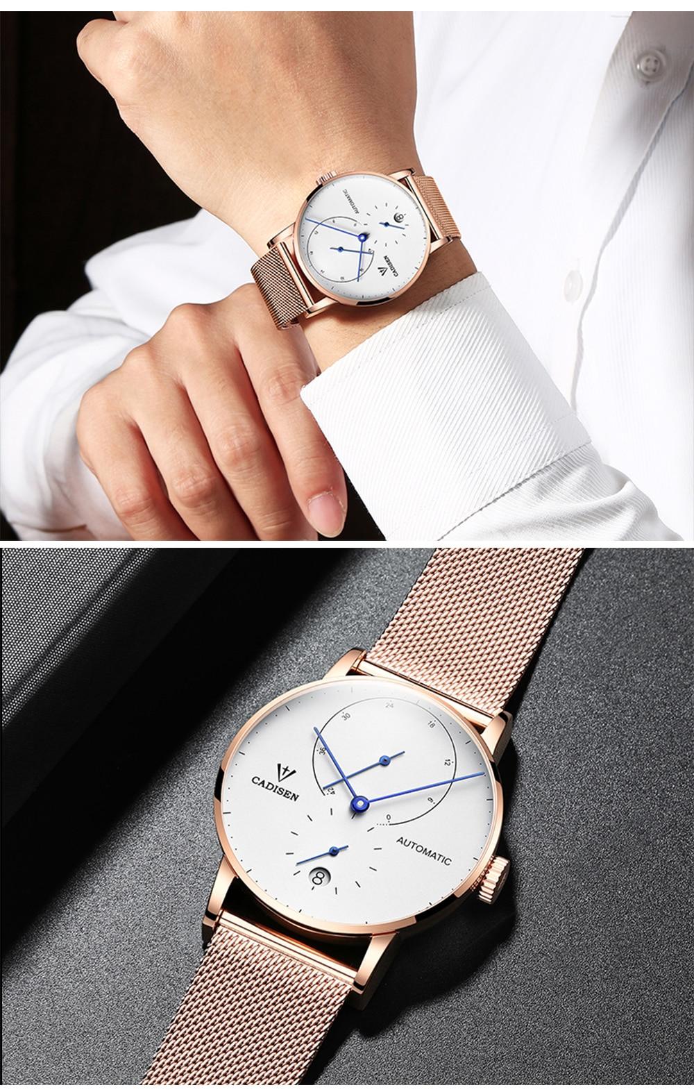 HTB1jl.VkyAnBKNjSZFvq6yTKXXaT Mens Watches CADISEN 2019 Top Luxury Brand Automatic Mechanical Watch Men Full Steel Business Waterproof Fashion Sport Watches
