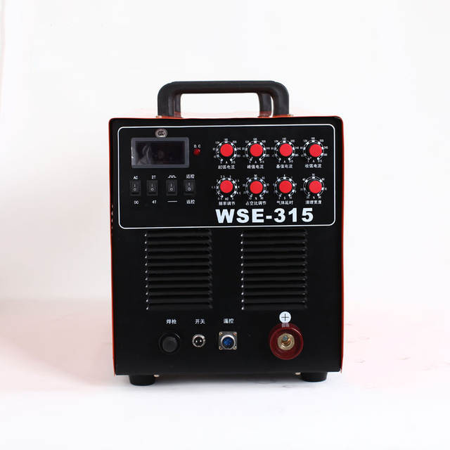 High Frequency Mosfet TIG-315 AC/DC Argon TIG Welder Portable Aluminium  Electric ac dc tig 315 pulse welding machine