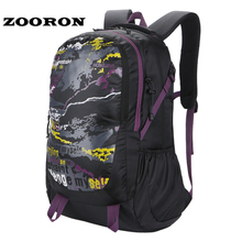Outdoor men women unisex bags Large Capacity sports gym Waterproof Travel Backpack Climbing Hiking running bag