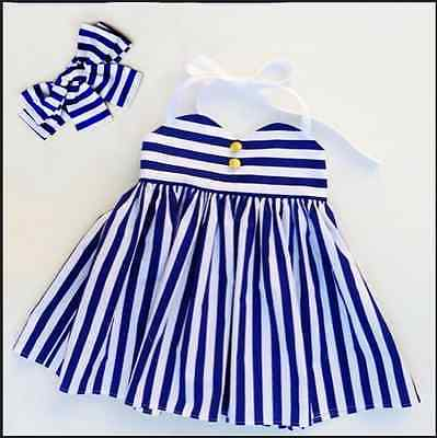 Summer Dress 2016 Wholesale New Baby Kids Girls Dress Toddler Princess Party Tutu Striped Halter Dress new summer toddler kids baby girls floral sleeveless princess dress flower tutu party dresses