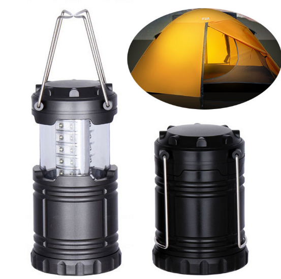 Multi-function camping lighting/3 mode outdoor portable tent light/telescopic camping light ABS material outdoor lighting