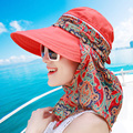 Brand Summer Style Women Foldable Wide Large Brim Floppy Beach Gorro Hats Chapeu Outdoors Visors Cap Sun Collapsible Anti-Uv Hat