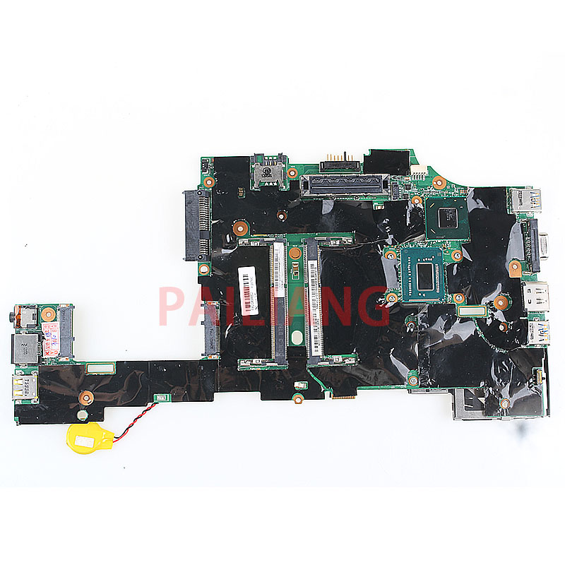 PAILIANG Laptop motherboard for Lenovo Thinkpad X230 X230I <font><b>I5</b></font>-<font><b>3320M</b></font> PC Mainboard 04W6802 tesed DDR3 image