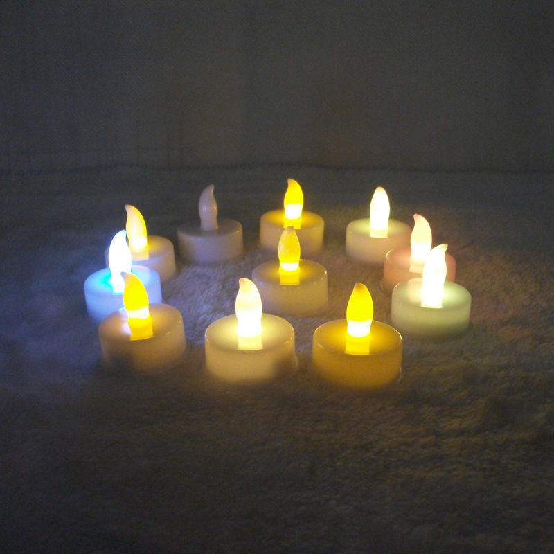 10pc decorative led birthday candles lamp electric velas. Black Bedroom Furniture Sets. Home Design Ideas