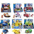 3pcs/set Genuine Paw Patrol Nickelodeon Spin Master Vehicle figures can sit into the car chase marshall skye zuma rocky rubble