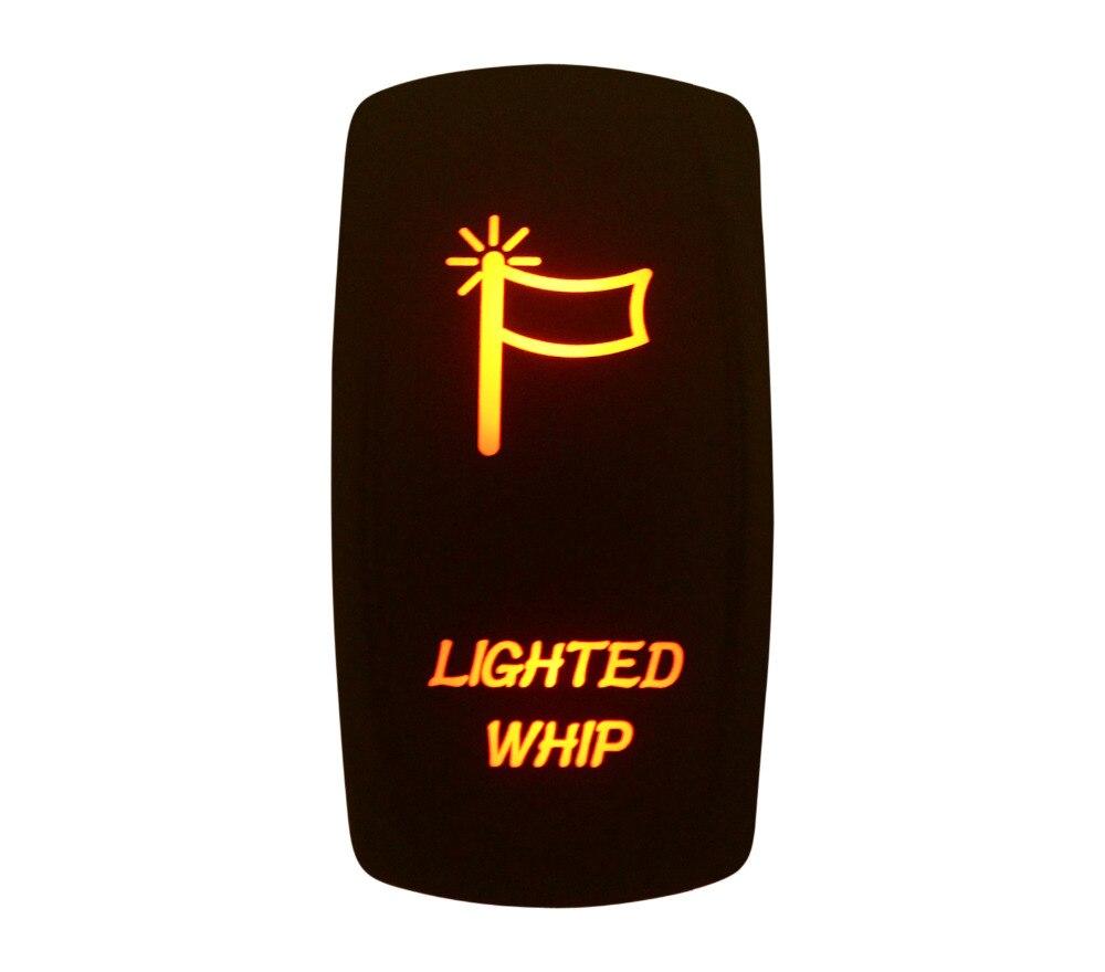 Marine Grade Waterproof IP66 LIGHTED WHIP Rocker Switch AMBER Led lamp 5 Pin ON/OFF SPST DC12V 24V|switch 5 pin|led light rocker switchrocker switch marine - AliExpress