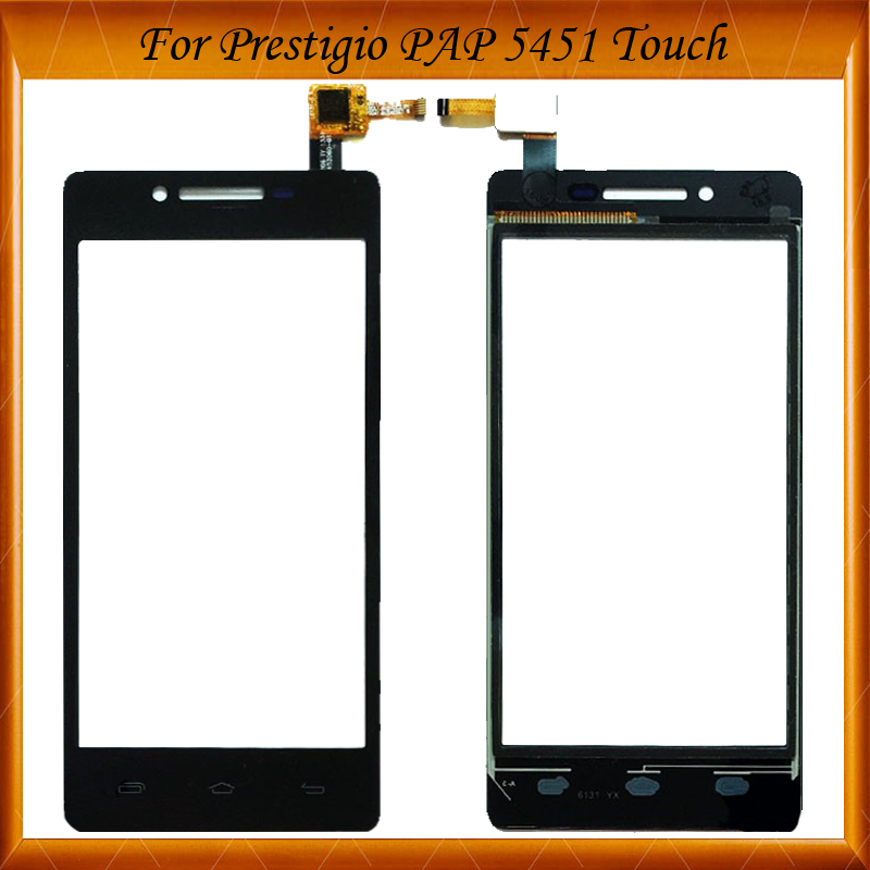 4.5 Phone Touch Panel For Prestigio Multiphone PAP 5451 DUO PAP5451 Tape Touch Screen Digitizer IN Stock