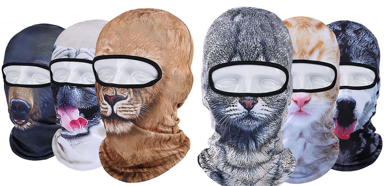 winter cat hat motorcycle cs ski mask cap veil balaclava 3d animal sport face masks skullies. Black Bedroom Furniture Sets. Home Design Ideas