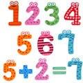 15 Pçs/set Número Bonito Das Crianças Dos Miúdos Do Bebê Ímãs de Geladeira De Madeira Do Alfabeto Imã de geladeira Vara Figura Educacional Aprender Brinquedos