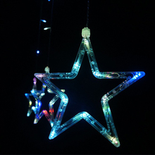 Energy-Saving Stars Shaped LED Light String for Home Decor
