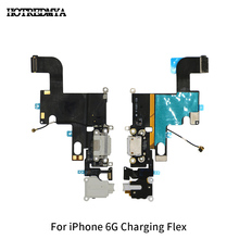 10pcs/lot Charger Charging Flex For iphone 6 6G 4.7