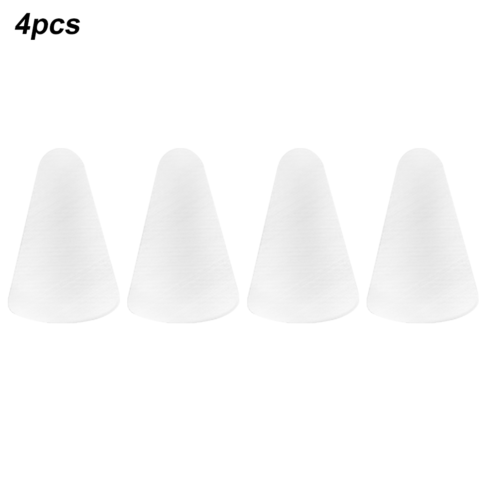 4Pcs Anti Scratch Replacement Tip Universal Durable Silicone Nib Cover Protective Mute Solid Non Slip For Apple Pencil 1st 2nd