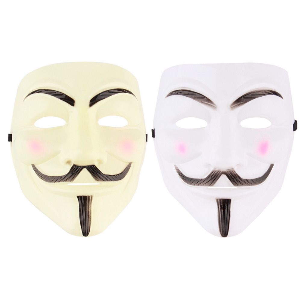 New V for Vendetta Anonymous Movie Adult Men Mask Halloween ...
