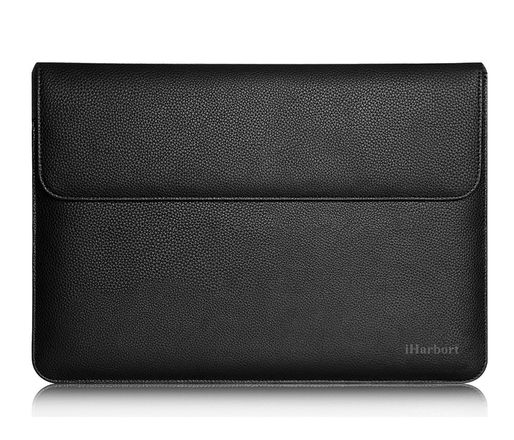 """Sleeve Bag for iPad Pro 12.9 - iHarbort PU Leather Wallet Case Bag for iPad Pro 12.9"""" or other Tablet Size Smaller than 12.9''"""