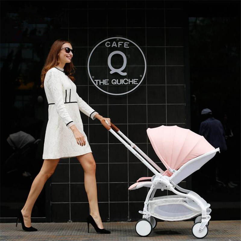 Luxury baby stroller high land-Scape pram pushchair portable folding bebek arabasi kinderwagen luxury baby stroller lightweight baby carriage strollers kids pram traval pushchair for 6 36 months kinderwagen bebek arabasi