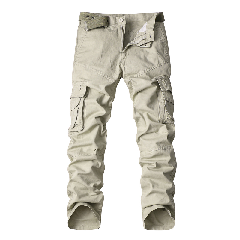 MISNIKI Overalls Multiple-Pockets Camouflage Cargo-Pants Army-Work Military Cotton AXP104