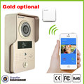 3G WIFI IP video doorphone wireless video doorbell intercom support Android and IOS RFID keyfobs