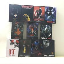 5 Тип оригинальный NECA пятница 13th часть 2 3 в 6 VI 3D Джейсон, Фредди фигурку игрушки куклы подарок на Рождество, Хэллоуин