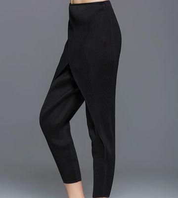 Stock Pantalon Livraison De Haroun Minutes kaki Mode Couleur Neuf En Noir ardoisé Gratuite Pur Pliage gris EPPq14w0