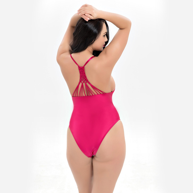 c36c1ff9e3 Hot Plus Size Women's Large Size bikini set Large One-Piece fat swimwear  swimsuit women