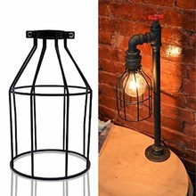 Vintage Style Iron Hanging Ceiling Pendant Cage Lampshade Light Shade Home/ Cafe