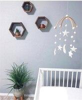 Cute Bear Cloud Felt Woodland Garland Kit DIY Craft Kids Room Nursery Hanging Wall Decor Best Gift Baby Shower Bunting Ornament