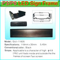 Gicl-11835 P6 LED Display LED Sign Frame,Applicable to P3 P6 led panel,Dedicated to Bus,taxi,car etc automotive display screen