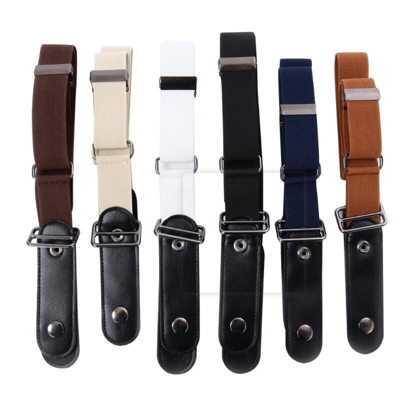 No Hassle Waist Belt Buckle-Free Elastic Belt Buckle Free No Buckle Stretch Belt Women's Plus Belts For Jeans Pants Dresses