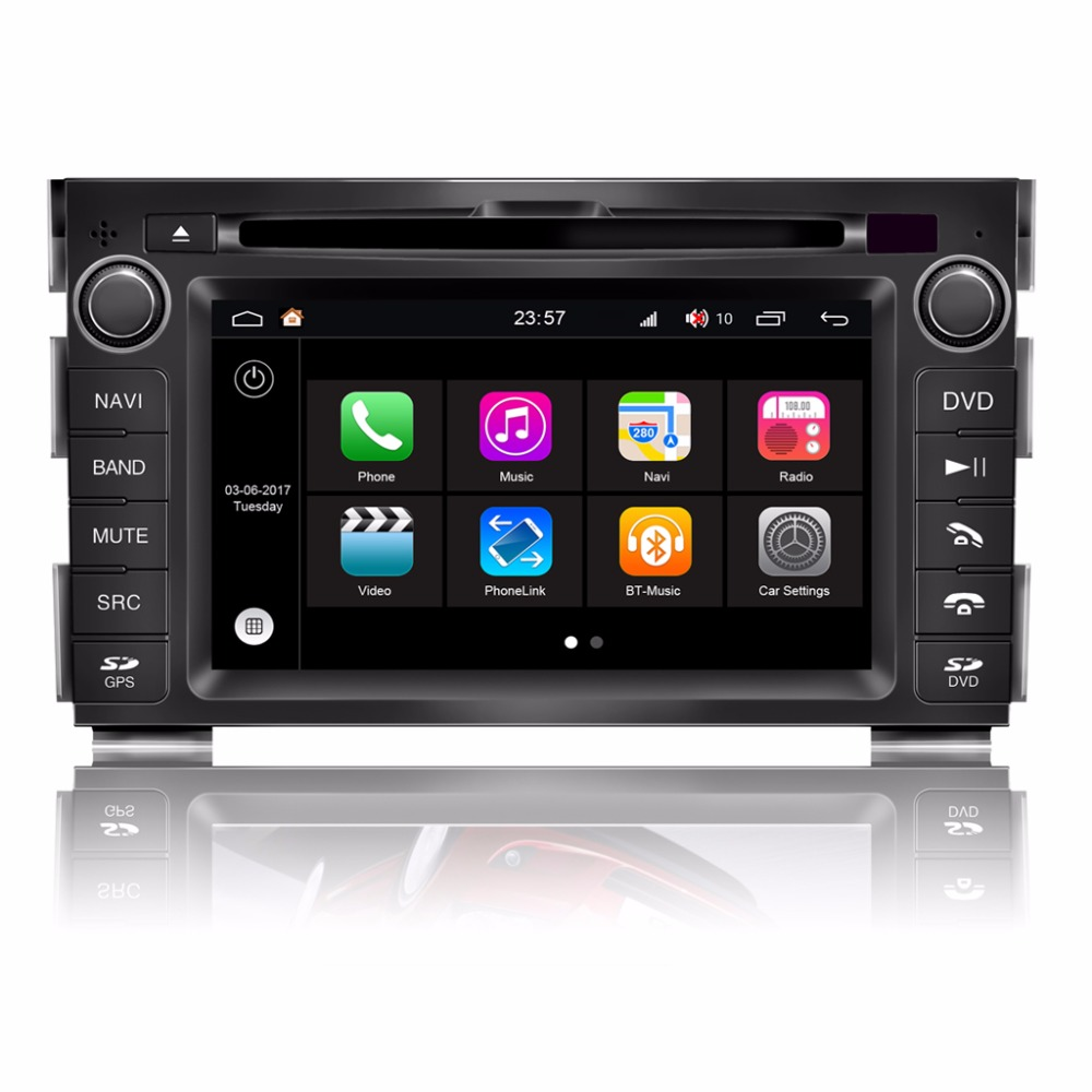 Android 7.1 Car Radio Video Player for KIA CEED DVD GPS ...