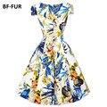 Nuevo vestido de festa verano de las mujeres casual dress vestidos más el tamaño de las señoras de partido atractivo de la vendimia maxi boho ropa bodycon sysj1334