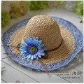 Panamá Sombreros de verano para mujeres Sombreros Gorro Sun Beach sombrero Chapeu Feminino 8 colores