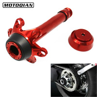 Motorcycle Rear Axle Fork Crash Frame Slider Wheel Protector For Ducati Monster Multistrada 1200 Panigale 1199 1299 Accessories