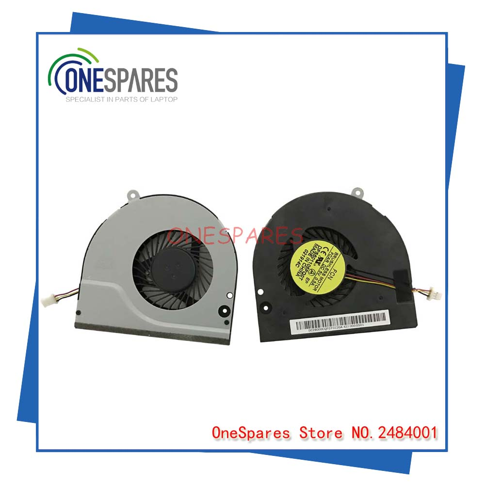 New Original Laptop CPU Cooler Fan For Genuine ACER Aspire E1-530 E1-530G E1-570 E1-570G E1-572 Series DFS501105FQ0T DC28000CQF0