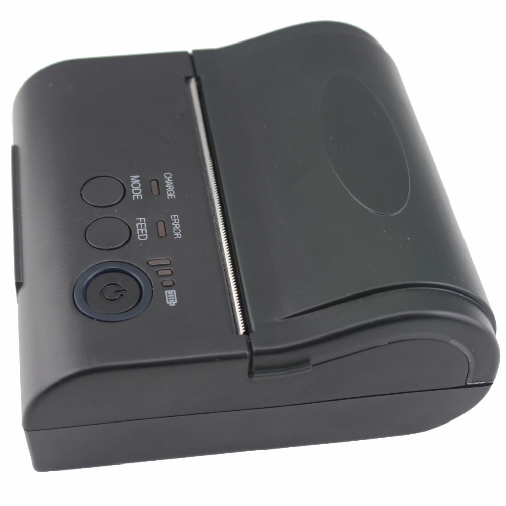 80mm Mobile Portable Thermal Receipt Printer Android 4.2.2 Bluetooth 4.0 Printer Mini Android Printer Free with SDK