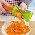Овощной спираль тесак жульен cutter овощечистка кухня piece терке цуккини морковь огурец лапши приготовления инструмент ZH01021