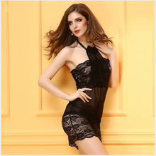 New Baby Doll Dress Women Sexy Lingerie Costumes Sexy Underwear Women Sex Product Erotic Lace Black White Lingerie