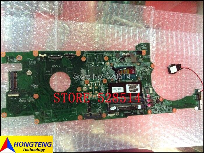 DA0QI2MB6F1 motherboard for HP SPS-MB UMA I3-4010U Rover1.0 Produkt Nr: 734066-001 734066-501 fully tested