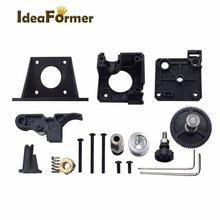 3D Yazıcı Parçaları Titan Ekstruder Tam Kitleri + Nema 17 Step Motor + V6 J-kafa Hotend Bowden Ekstruder 1.75 MM Filament Besley...