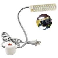 Iluminación Industrial, máquina de coser, luces LED, lámpara de trabajo Flexible multifuncional, luz de costura magnética para torno de prensa de perforación