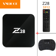 2017 Newest Z28 Android 7.1 TV Box RK3328 1G/8G 2G/16G  octa Core Wifi 4k 3D Mini PC Media Player Smart tv box Z28