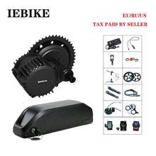 36 V 500 W BAFANG BBS02 moteur électrique pour vélo 8fun mi Drive E Kit de Conversion de vélo bricolage Kit de vélo électrique avec batterie