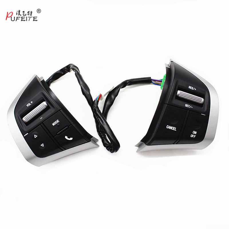 Steering Wheel Control Buttons For Isuzu D max Mux For Chevy Trailblazer Radio Audio Control Switch