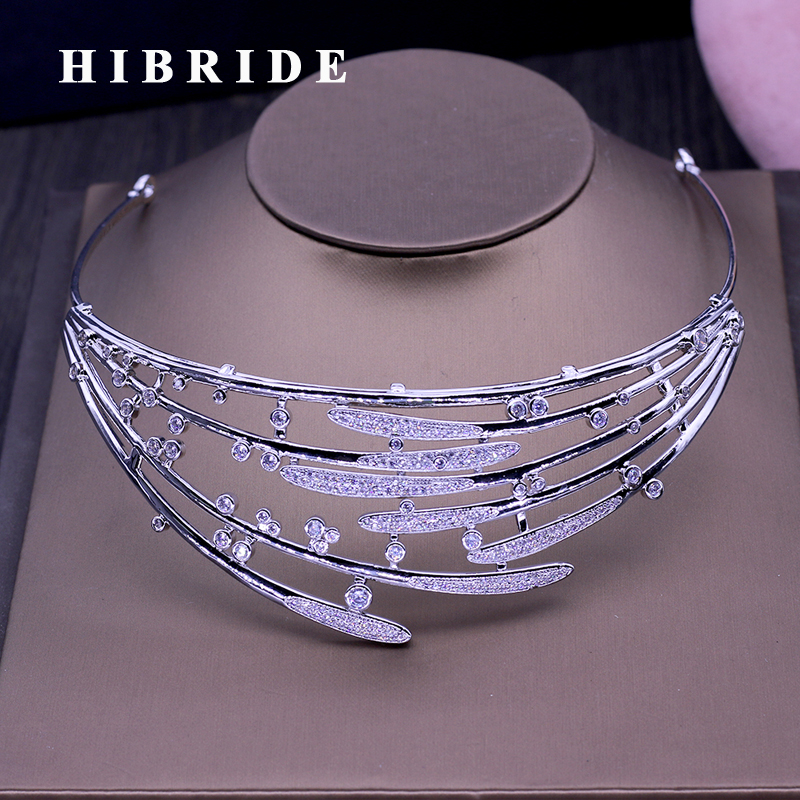 Dazzling Rhinestones Hari Jewelry For Bridal Sliver Wedding Tiaras Girls Crown Headwear Adornos Para El Pelo H228 Hair Jewelry