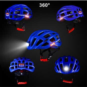 2019 New Bicycle Helmet Bike Ultralight Light Helmet Integrally-molded Mountain Road Bicycle MTB Helmet Safe Men Women 57-62 CM