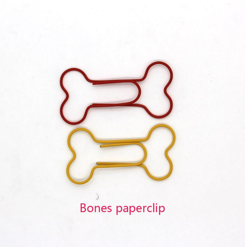 aeProduct.getSubject()  24pcs/lot Inventive colourful Metallic bone formed clip Bookmark clip PVC field packaging paperclips coloration blended faculty workplace provide HTB1jl8yacIrBKNjSZK9q6ygoVXal