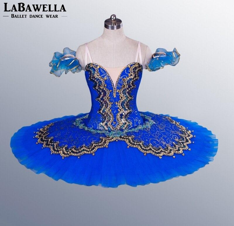 Sleeping Beauty Ballet Stage Costume Tutu Girls BT8941F Blue Bird Classical Tutu Women Professional Ballet Platter