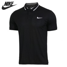 Original New Arrival NIKE NKCT DRY POLO PIQUE Men's POLO short sleeve Sportswear