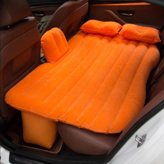 2018 Top Selling Car Back Seat Cover Car Air Mattress Travel Bed Inflatable Mattress Air Bed Good Quality Inflatable Car Bed