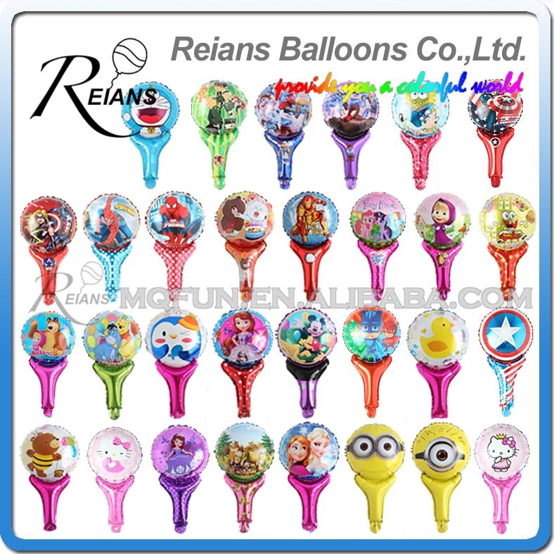 REIANS 51cm Anime cartoon kids girls and bear iron man Doraemon handheld Party birthday aluminum foil balloon party supplies